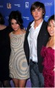Zac Efron y Vanessa Hudgens en Hollywood