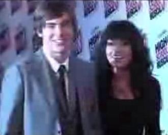Video de Zac Efron y Vanessa Hudgens en premier de High School Musical 3 en México