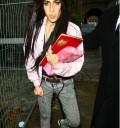Amy Winehouse con peluca
