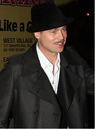 Brad Pitt llegó a Los Ángeles