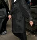 Brad Pitt con bigote en Los Angeles