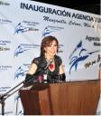 Gloria Trevi en inauguracion de Agencia Turistica en Colima