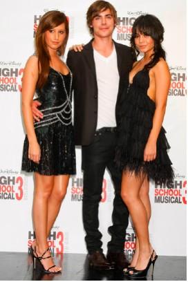 Zac Efron y Vanessa Hudgens en Melbourne