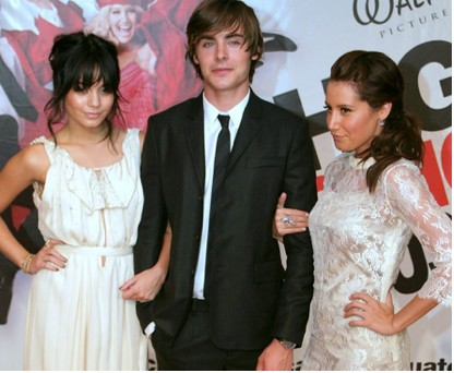 Ashley Tisdale, Vanessa Hudgens y Zac Efron en Australia