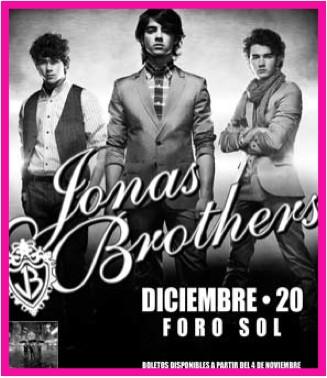 Jonas Brothers agotan boletos preferentes en el Foro Sol