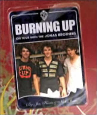 Libro Burning Up: On Tour With the Jonas Brothers ya está a la venta
