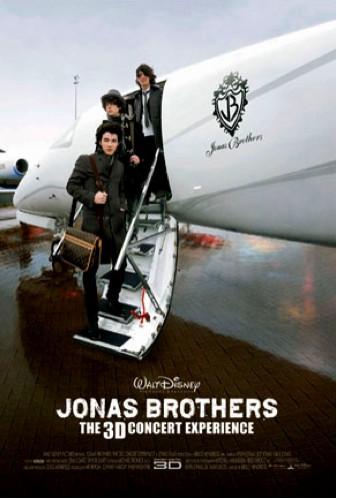Concierto 3D Jonas Brothers Cartel