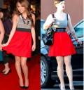 Miley Cyrus y Kelly Osbourn con el mismo vestido