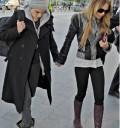 Lindsay Lohan y Samantha Roson de la mano
