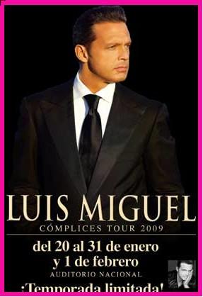 Luis Miguel Tour Complices en Auditorio Nacional