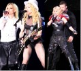 Madonna con Britney Spears y Justin Timberlake