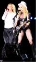 Britney Spears en concierto de Madonna
