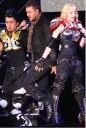 Madonna con Justin Timberlake en concierto