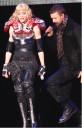 Madona y Justn en concierto