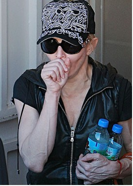 Madonna en mal estado