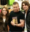 Miley Cyrus en Firma de Libro