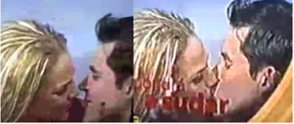 Niurka besó a Raúl Sandoval en la boca