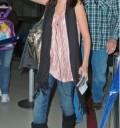 Selena Gomez en Aeropuerto