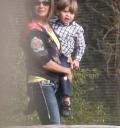 Lynn Spears con su nieto