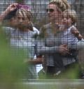 Britney Spears con Jamie Lynn y su hijo