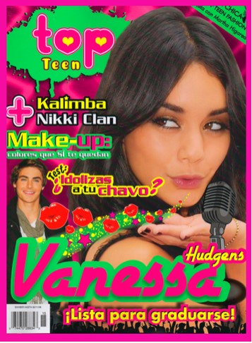 Vanessa Hudgens en Top Teen