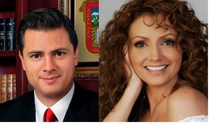 Angélica Rivera llegó con Peña Nieto a la boda de Chantal Andere