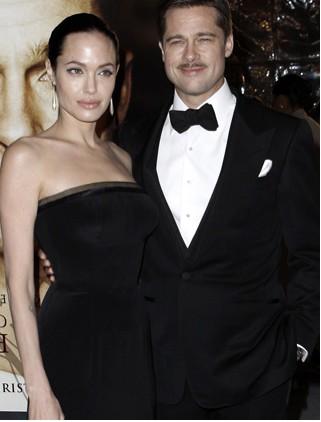 Brad Pitt y Angelina Jolie muy elegantes en Los Angeles