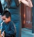 Angelina Jolie de Compras con su hijo