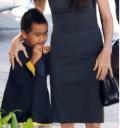 Angelina Jolie de compras en Nueva Orleans con su hijo