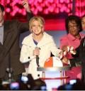 Britney Spears en ceremonia de iluminación de arbol de navidad