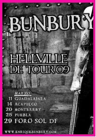Bunbury 29 de marzo en Foro Sol