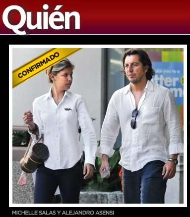 Michelle Salas espera un hijo del manager de Luis Miguel
