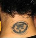 Tatuaje en la nuca de Bill Kaulitz