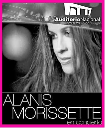 Alanis Morissette en México