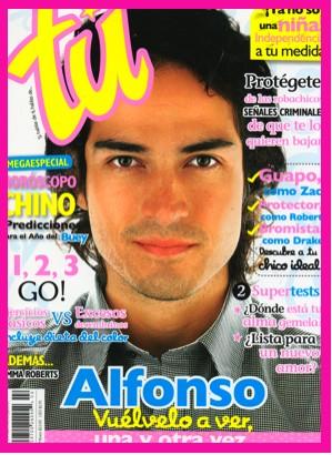 Alfonso Herrera en Revista Tú