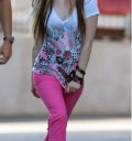 Avril Lavigne muestra su nueva linea de ropa