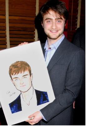 Daniel Radcliffe recibió su retrato