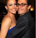 Jennifer Lopez y Mark Anthony en fiesta para Obama