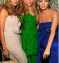 Paulina Rubio, Jennifer Lopez y Shakira en fiesta para Obama