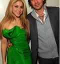 Shakira y Antonio de la Rúa en fiesta para Obama