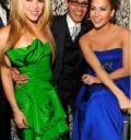 Shakira, Mark Anthony y Jennifer Lopez en fiesta para Obama