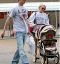 Jamie Lynn Spears con su novio e hija
