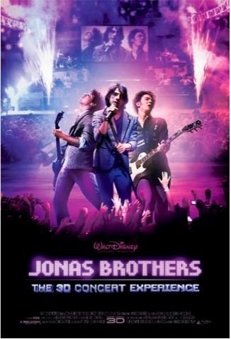 Nuevo póster de Jonas Brothers en 3D