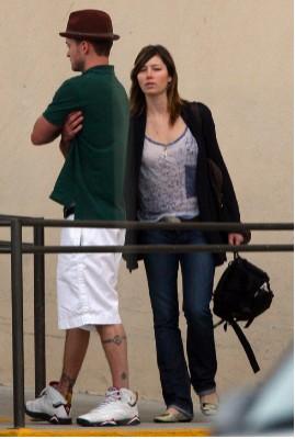 Justin Timberlake y Jessica Biel en México
