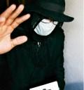 Michael Jackson saliendo del hospital