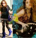 Miley Cyrus con el look de Gloria Trevi