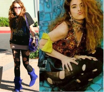 Miley Cyrus al estilo Gloria Trevi
