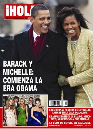 Obama y Michelle en ¡HOLA!