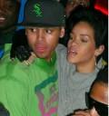 Rihanna en bar con su novio