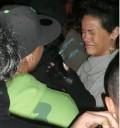 Rihanna en un bar con su novio